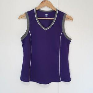 St John's Bay Active Purple top